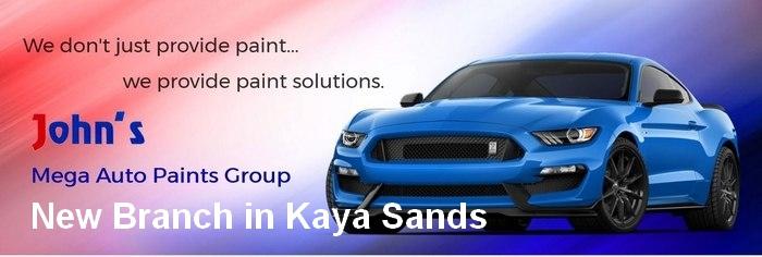 Johns Mega car-paints new branch
